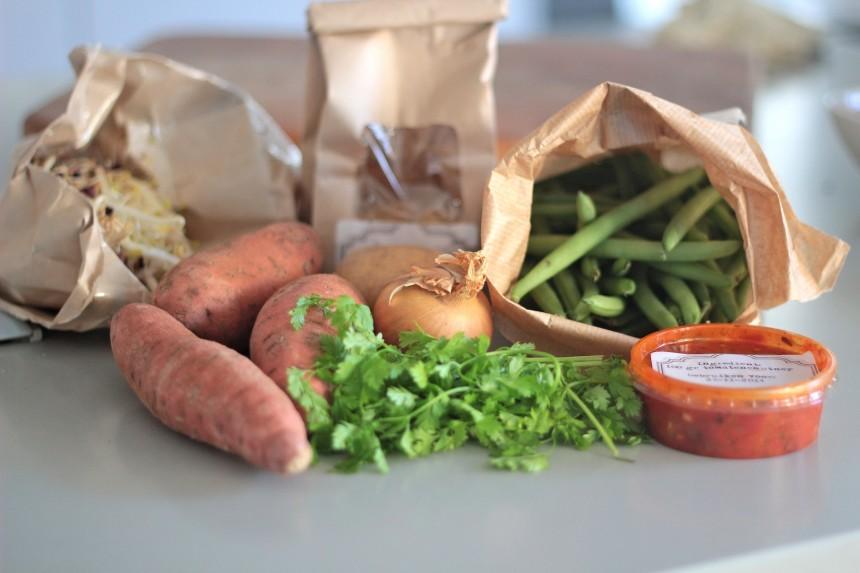 Aangenaam Thuis Haarlem boodschappen service biologisch foodbox