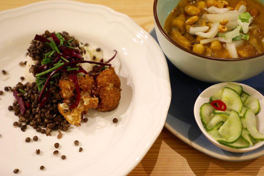 Bindicafé Amersfoort vegetarisch restaurant vegan curry