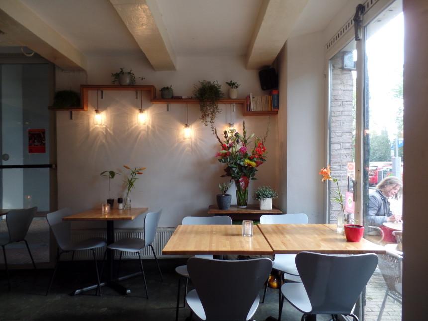 Bloem Amsterdam actie korting biologisch restaurant horeca uit eten