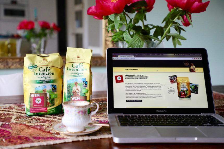 Café Intención winactie kadobon puur uit eten