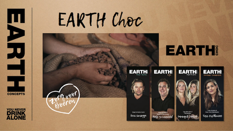 EARTH Chocolade Earth choc