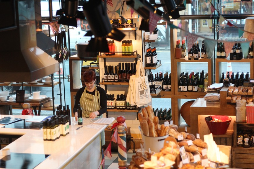 londen tips fairtrade biologisch restaurants Jamie's Recipease London Jamie Oliver Notting Hill restaurant