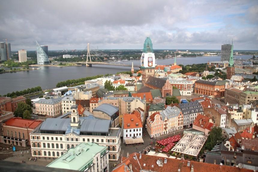 Uitzicht Riga
