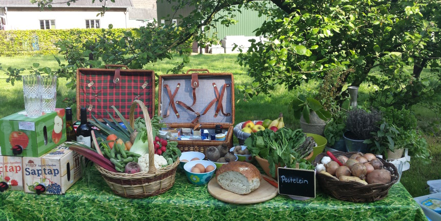 Gelderland biologische kookworkshop Blossom events apeldoorn