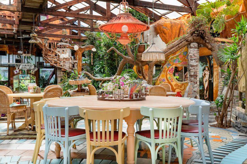 Het Paradijs Enschede biologisch vegetarisch restaurant