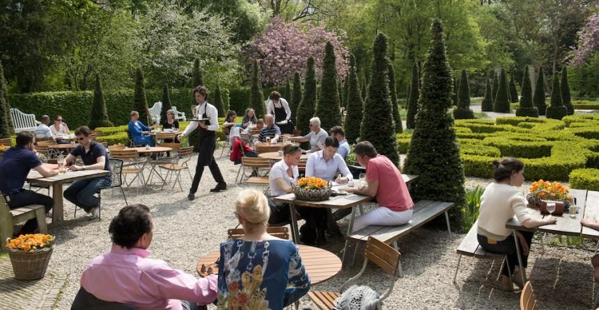 Restaurant Merkelbach Amsterdam biologisch puur uit eten tuin duurzaam