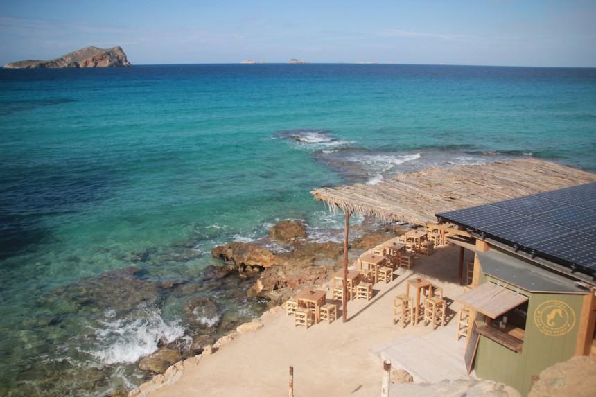Cala Comte Ibiza beach