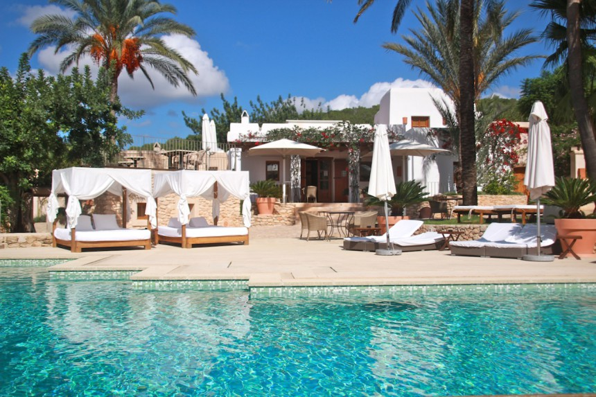 Can Lluc Ibiza boutique hotel luxury travel hotel rural