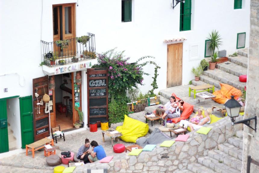 sescalinata ibiza town bar dalt villa