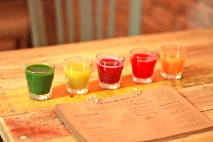 The Juice House Barcelona clean eating vegetarisch vegan restaurants