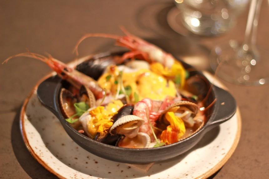 Restaurant Somorrostro Barcelona Barceloneta slow food duurzame vis