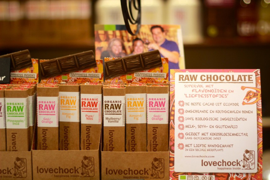Love Chock raw chocolate biologisch