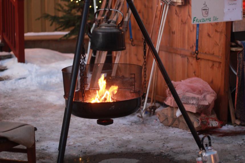 Røros christmas market Trondelag Xmas Norway