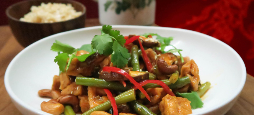 Vegan roerbaktofu Jasmijn & ik recept veganistisch restaurant utrecht thais