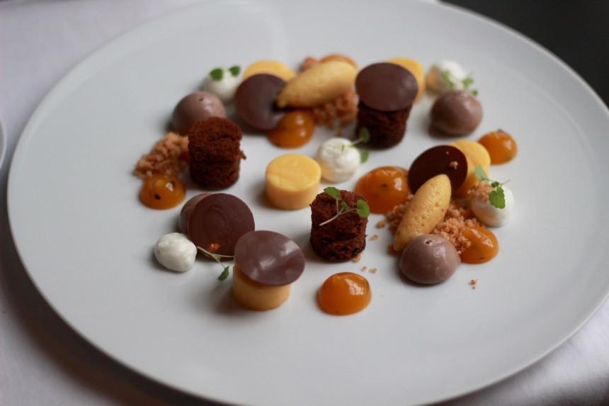 Restaurant LOF Gent vegetarisch puur uit eten belgië lekker dessert