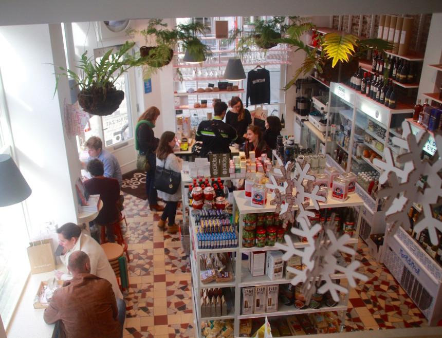 Moor en Moor Gent biologisch lokaal lekker eten winkel restaurant Yves de Moor
