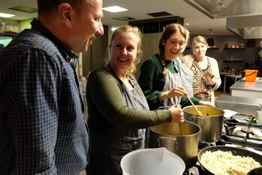 GreenTwist Cooking biologische kookworkshop in Eindhoven