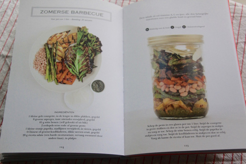 Recepten salades boek winactie zomerse barbecue vegetarisch