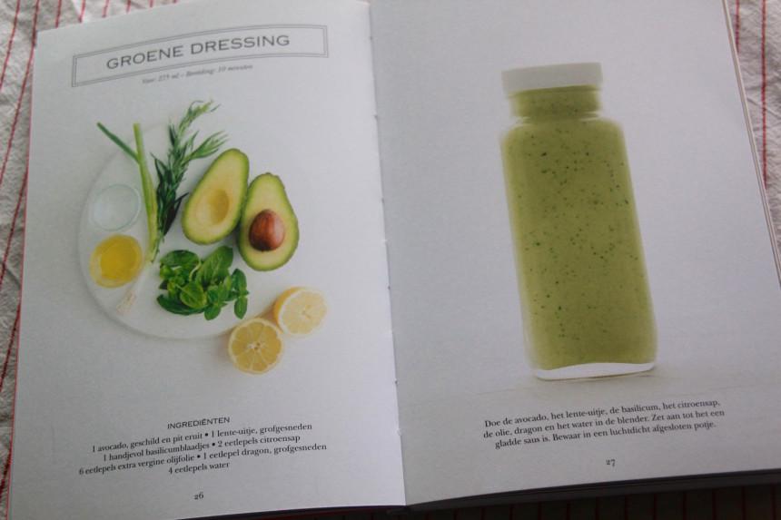 Recepten salades boek winactie dressing gezond eten