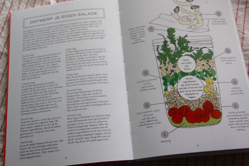 Recepten salades boek winactie