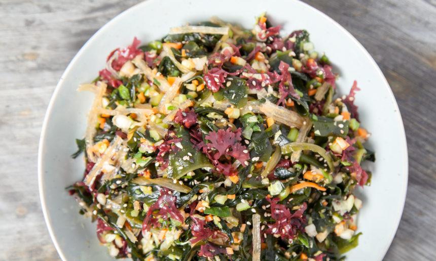 Recept zeewiersalade vegan veganistisch suikervrij spirit rotterdam vegan recept zeewier salade vegetarisch gezond