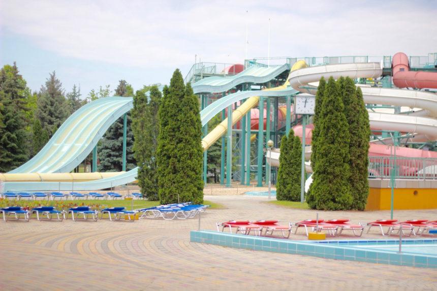 Hungarospa Hadjuszoboszlo aqua park glijbaan wellness