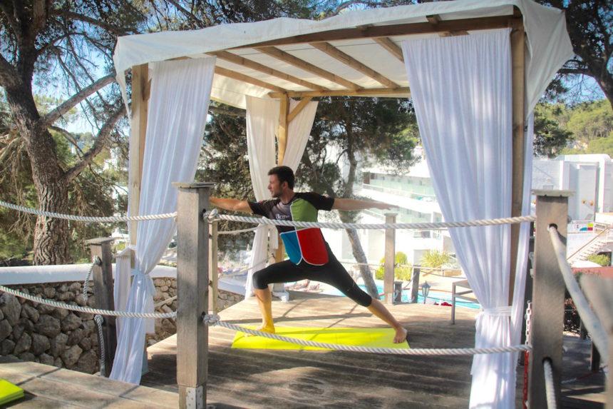 Yoga Artiem Audax Hotel Menorca sport pilates Cala Galdana