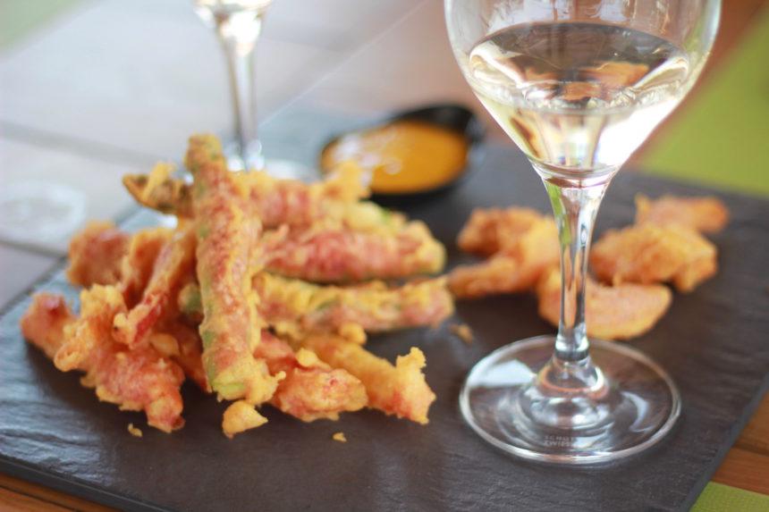 Lunch Artiem Audax Hotel Menorca tempura groente wijn tips restaurants