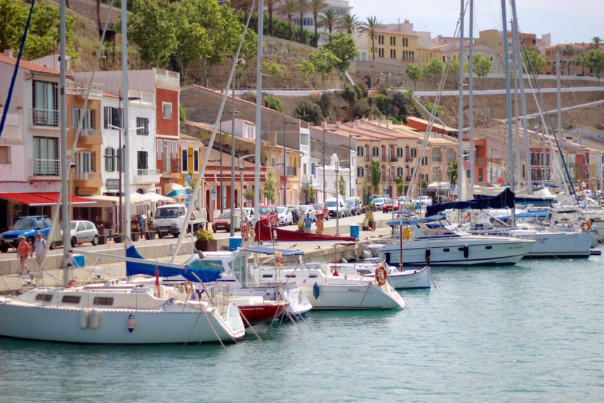 Mahon haven boottocht Menorca boot