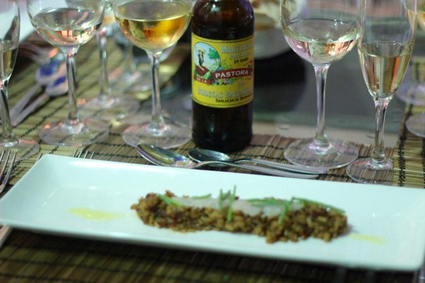 Sherry bodega Barbadillo sherry spijs shapas