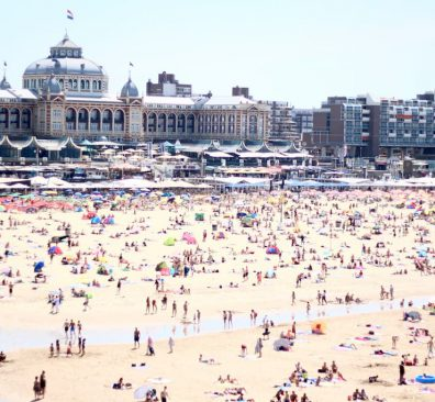 Biologisch eten Den Haag / strand