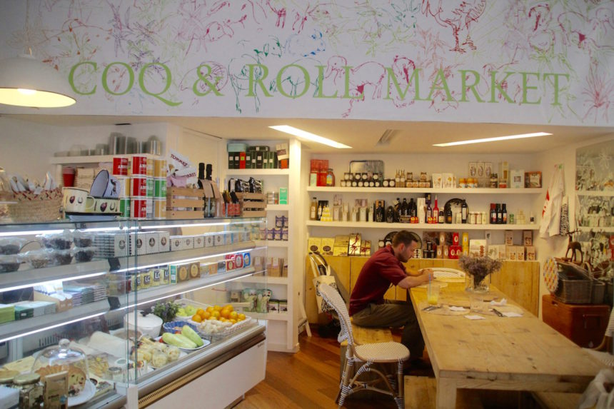Coq & Roll Market Sevilla Sevilla Spanje gezond biologisch