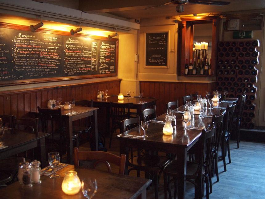Restaurant De Struisvogel Amsterdam biologisch duurzaam Keizersgracht Berenstraat 9 straatjes negen straatjes