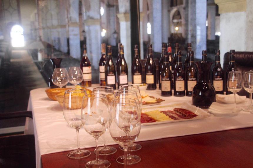 Lustau sherry bodega Jerez de la Frontera proeverij tasting