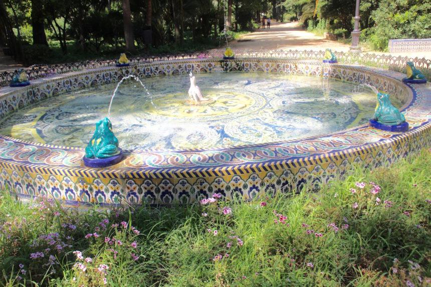 Parque de María Luisa Sevilla seville spanje espana spain andalucia park
