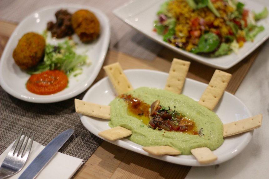 Biologisch, vegetarisch en lekker eten bij Vantana in Sevilla restaurant gezond eten seville