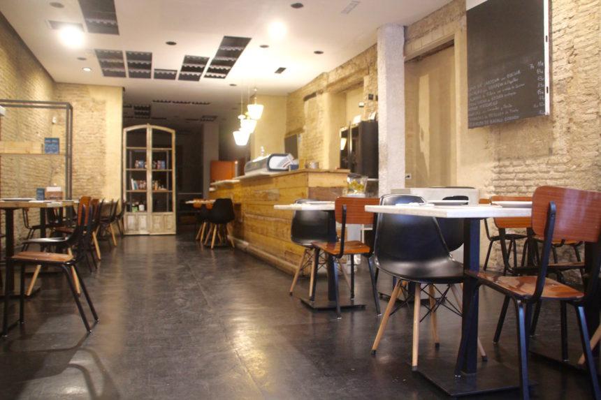 Biologisch en vegetarisch bij Vantana in Sevilla restaurant eten seville spanje gezond eten