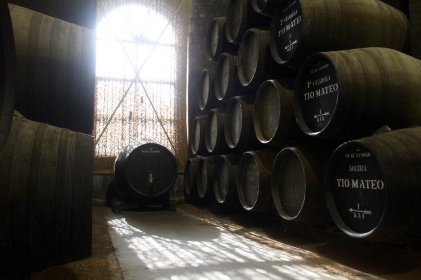 Sherry solera Bodega Estevez Jerez de la Frontera reisjournalist culinair journalist wijnschrijver wijn journalist