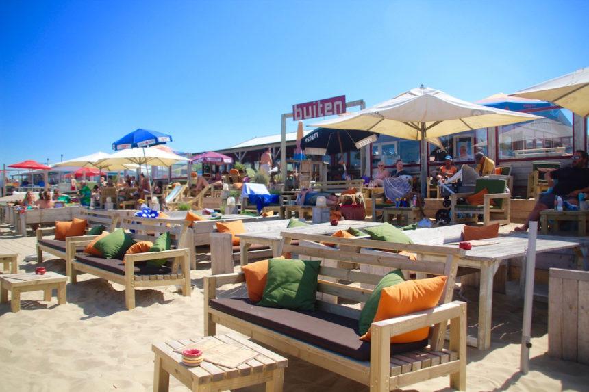 Strandpaviljoen Buiten Zwarte Pad Scheveningen strand den haag biologisch duurzaam duurzame vis