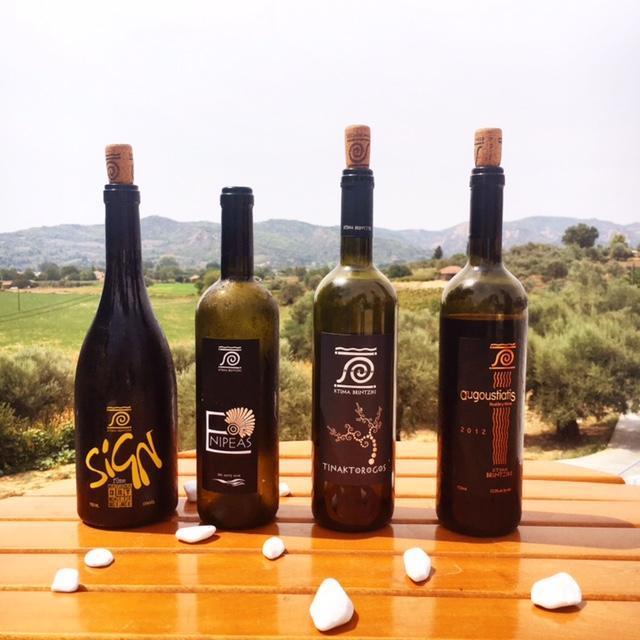 Kima Brintziki organic wine