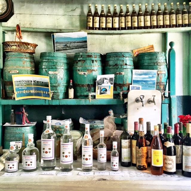 Messolonghi souvenir grieks griekenland ouzo