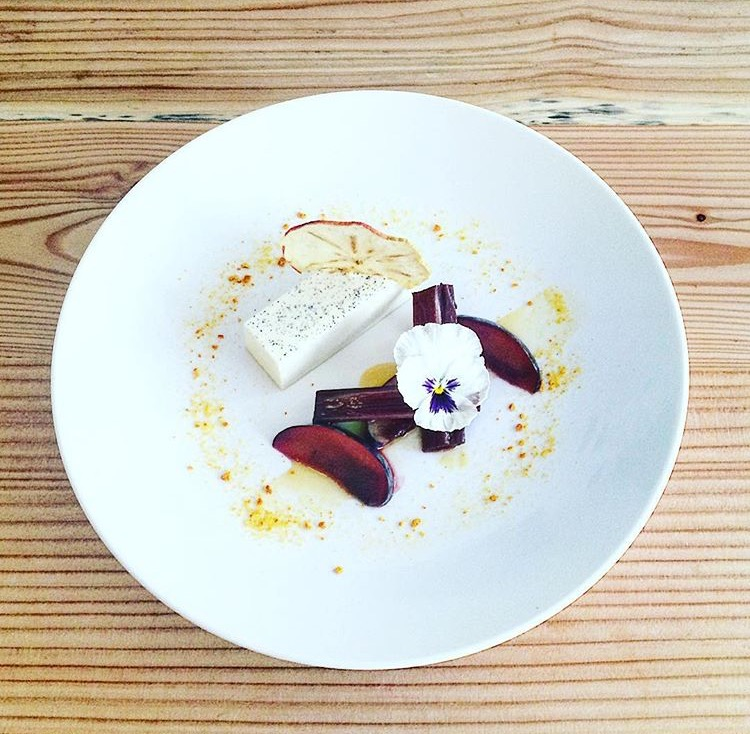 Panna cotta recept chef GEEF Amsterdam Marcel den Heijer vegan dessert