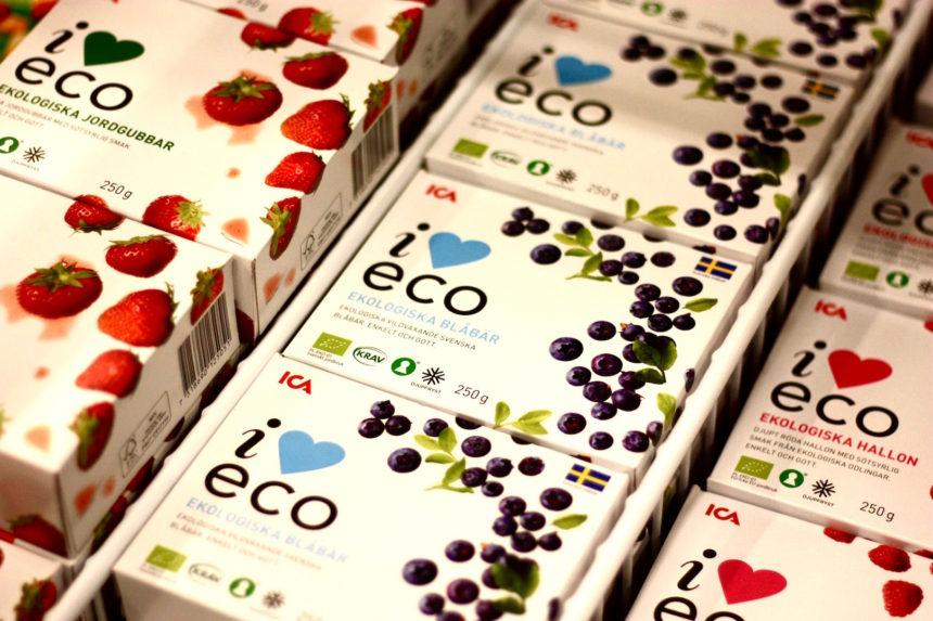 ICA Zweedse supermarkt eco biologisch
