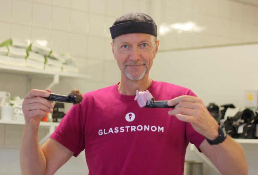 Peter Svanberg Glasstronom