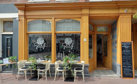 GEEF Amsterdam restaurant cafe Jordaan