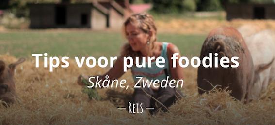 Tips pure foodies Skåne, Zweden reistips eten biologisch reizen