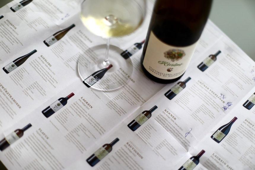 Wijnhuis Novacella Neustift Zuid-Tirol wijn