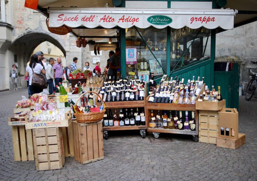 Lokaal eten en drinken in Zuid-Tirol Brixen Bressanone