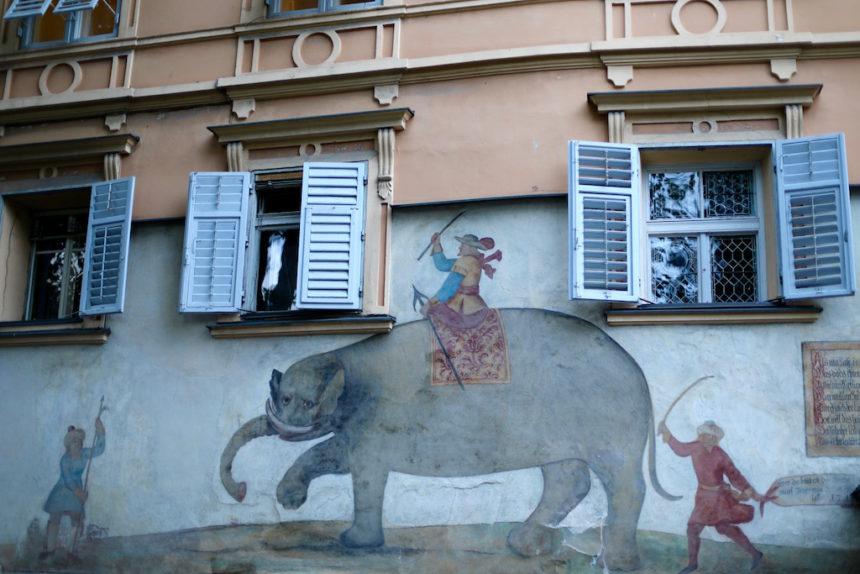 Hotel Elephant Brixen Bressanone fresco