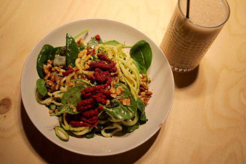 Coffeelabs Antwerpen puuruiteten foodblog reisblog biologisch veggie vegetarisch uit eten